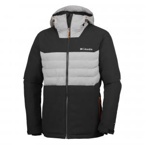 White Horizon Hybrid Blouson De Ski Homme