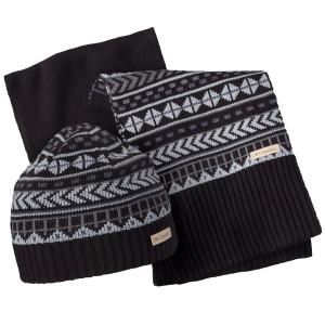 Winter Worn Bonnet + Echarpe Femme