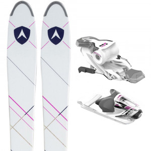 Cham 2.0 Woman 87 Ski + Xpress W11 B83 Fixations Femme