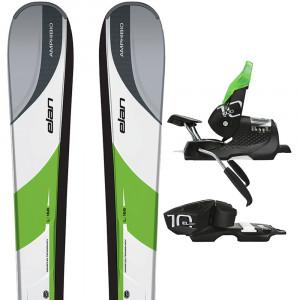 Amphibio 9 Qt Ski + El 10.0 Fixations Homme