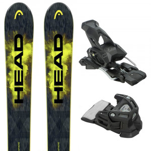 Monster 98 Ti Ski + Attack 13 Fixations Homme