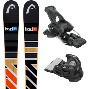 The Caddy Sw Ski + Attack 13 Fixations Homme