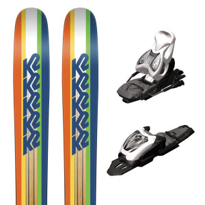Shreditor 85 Jr Ski + Fastrack2 7 Fixations Garcon
