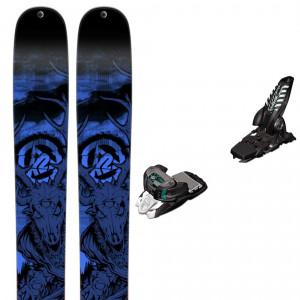 Shreditor 120 Ski Homme + Marker Griffon 13 Fixation
