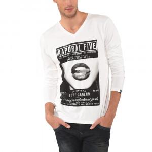 Flap Tee Shirt Ml Homme