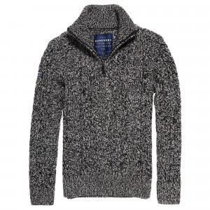 Jacob Heritage Henley Pull Homme