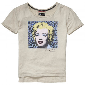 Andrew Tee Shirt Mc Femme