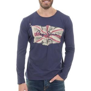 Flag Logo T-Shirt Ml Homme