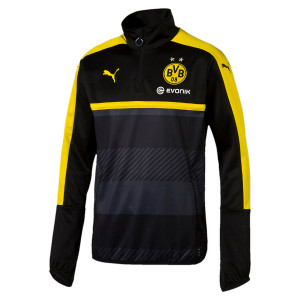 Bvb Training Sweat 1/2 Zip Homme