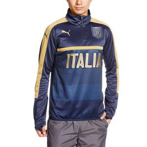 Figc Sweat 1/2 Zip Italie Homme