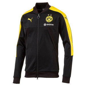 Bvb Stadium Training Sweat Zip Garçon