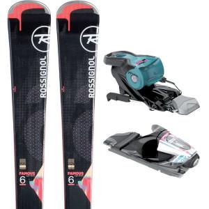 Famous 6 Ski + Xpress W11 B83 Fixations Femme