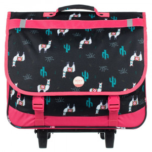 Green Monday Cartable Roulettes Fille