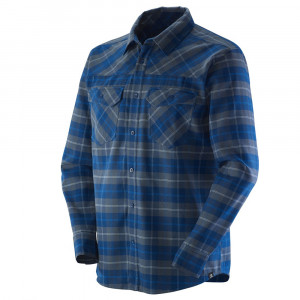 Mountain Flannel Chemise Ml Homme