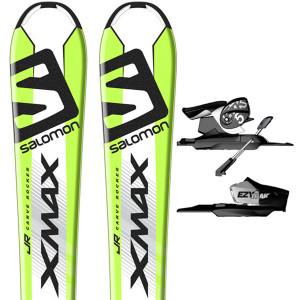 X-Max Jr Ski + Ezy5 B80 Fixations Garçon