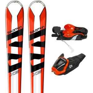 X-Max X6 Ski + Lithium 10 Fixations Homme
