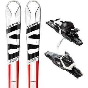 E X-Max X6 R Ski + E Lithium 10 Fixations Homme