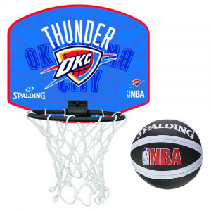 Oklahoma City Thunder Mini Panier Ballon Basket