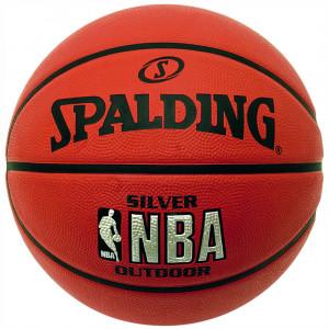 Nba Silver Outdoor Ballon Basket Enfant