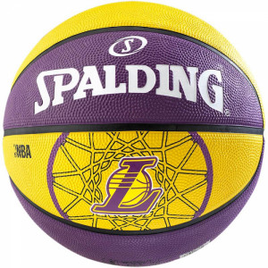 Nba Team L.a. Lakers Ballon Basket Enfant
