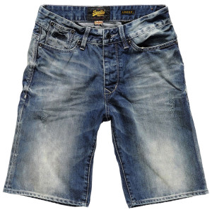 Biker Short Jean's Homme