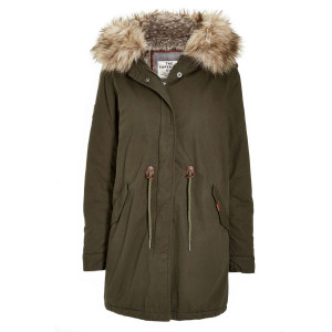 Borderlands Fur-Lined Parka Femme