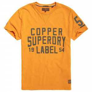 Copper Label Cafe Race T-Shirt Mc Homme