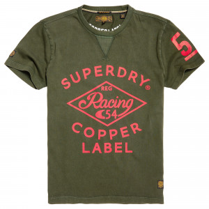 Copper Label Cafe Race T-Shirt Mc Homme