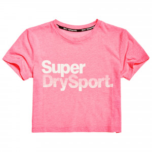 Sd Sport Essentials Crop T-Shirt Mc Femme