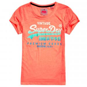 Premium Gds Tri Fade Entry T-Shirt Mc Femme