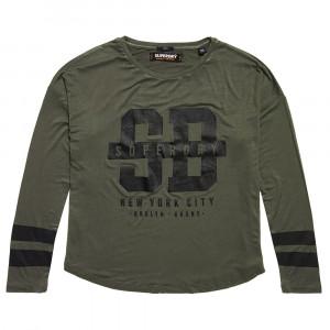 Slouch Sport T-Shirt Ml Femme