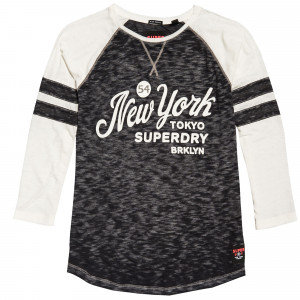 Brooklyn Baseball T-Shirt Ml Femme