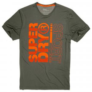 Core Training Graphic T-Shirt Mc Homme