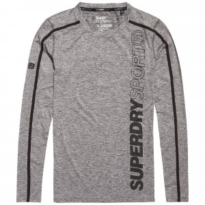 Sport Athletic L/s T-Shirt Ml Homme