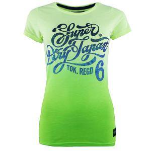 Regd 6 Dip Dye T-Shirt Mc Femme