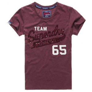 Sequin Team Comets T-Shirt Mc Femme