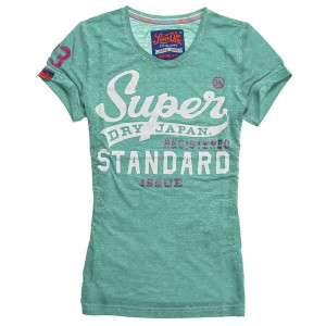 Standard Issue Burnout T-Shirt Mc Femme