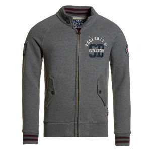 Super State Coaching Track Sweat Zip Homme