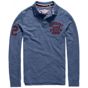 Super State Polo Ml Homme