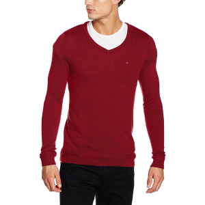 Basic Vn Sweater Pull Homme