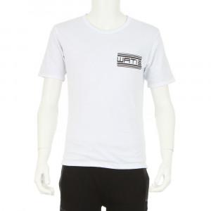 Wati Crew Tee Shirt Mc Garcon