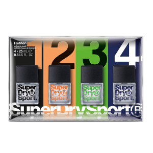 1. 4Pk Superdry Man Sport Parfums Homme