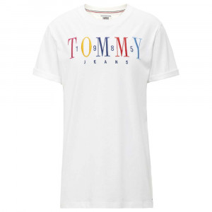 1985 Embroidery T-Shirt Mc Femme