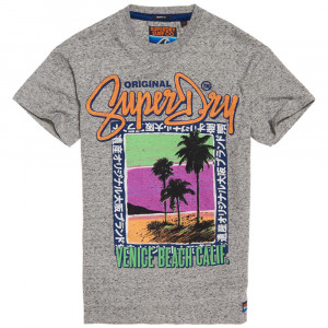 Acid Pacifica Boxy T-Shirt Mc Homme