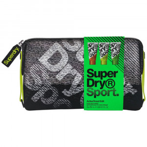 low priced 67323 84073 SUPERDRY Active Travel Edit Kit Gel Douche Homme
