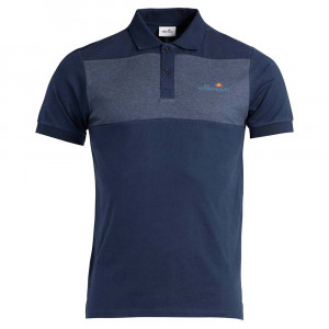Albo Cut And Sew Polo Mc Homme