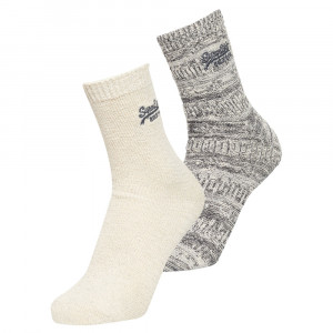 All Over Sparkle Socks Pack 2 Chaussettes Femme