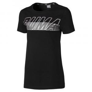 Alpha Logo T-Shirt Mc Fille