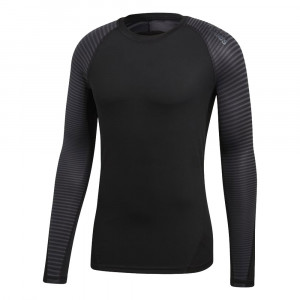 Alphaskin Sport Graphic T-Shirt Ml Technique Homme
