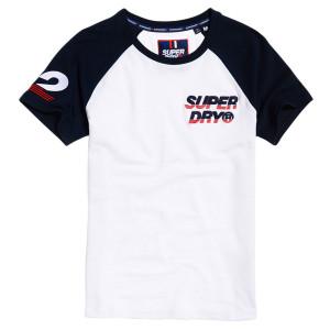 Applique New House Ss Baseball T-Shirt Mc Homme